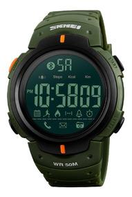 Skmei Lcd Acuático Notificaciones Smartwatch 1301 Bluetooth qGMLVpSUzj