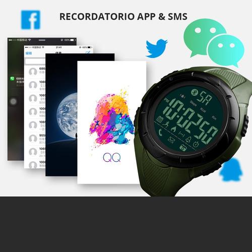 smartwatch skmei deportivo pantalla digital podómetro 1326