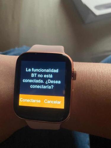 smartwatch t500 serie 4 con 4 pulseras solo 15 días de uso