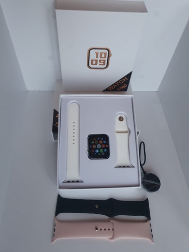 smartwatch t500 serie 5  iphone y android+manilla adicional