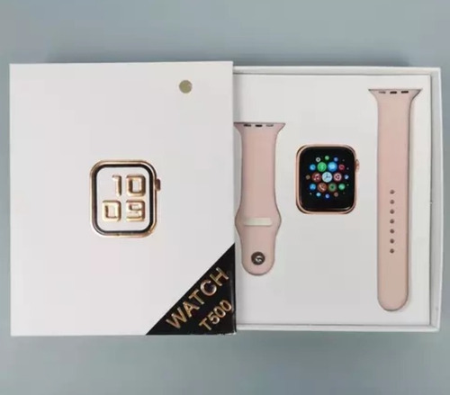 smartwatch t500 serie 5 multifuncional