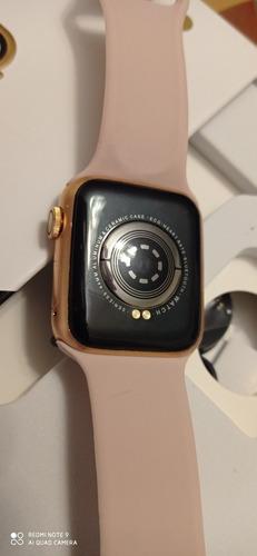 smartwatch t500 series 5 color oro rosa