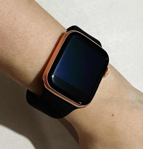 smartwatch t500 silimar a apple watch serie 4 color negro