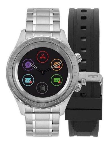 smartwatch technos connect duo - p01aa/1p
