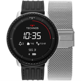 Smartwatch Technos Connect Id Silver L5ab/4p