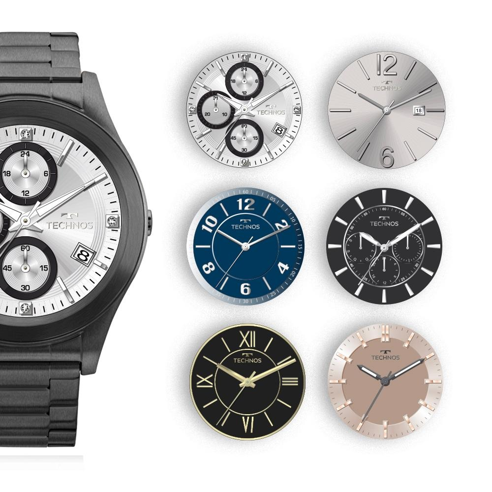 Smartwatch Technos Connect Preto Sraf 4p - R  899,00 em Mercado Livre 56fed83819