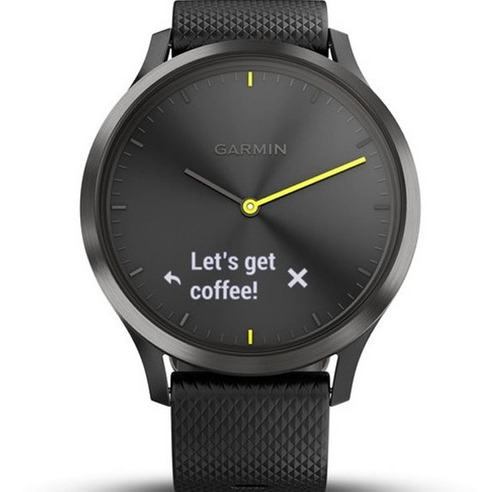 smartwatch touch oled garmin vivomove hr sport vo2 nataçao