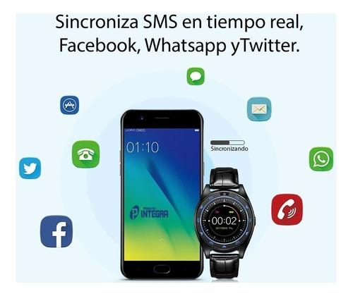 smartwatch tq920 android samsung ios reloj chip celular gsm
