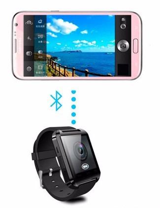 smartwatch u8 bluetooth iphone android samsung