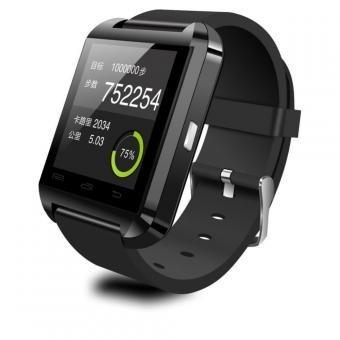 smartwatch u8, disponible blanco, rojo y negro