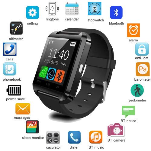 smartwatch u8 negro/blanco/rosado envío gratis!!!