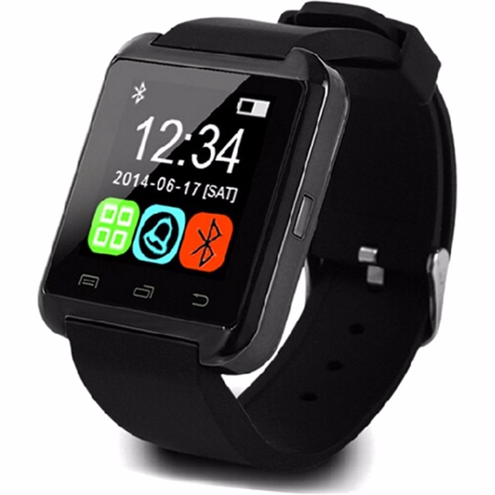 eeb88ef4d78 smartwatch u8 relógio inteligente bluetooth android iphone. Carregando zoom.