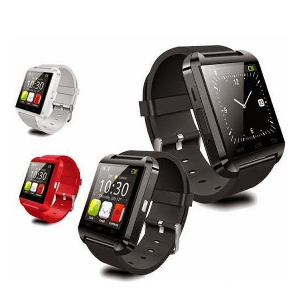 Smartwatch U8 Relógio Inteligente Bluetooth Android Iphone ...