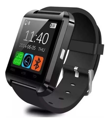 smartwatch u8 relógio inteligente bluetooth android iphone