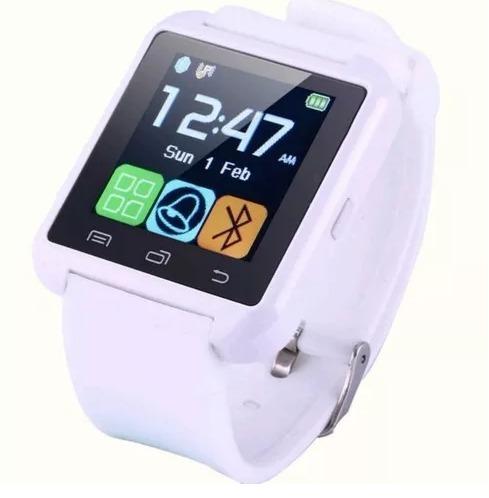 7e692d76b38 Smartwatch U8 Relógio Inteligente Bluetooth P android Iphone - R  89 ...