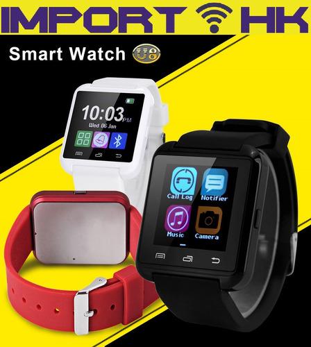 smartwatch u8 reloj inteligente bluetooth android ios llamad