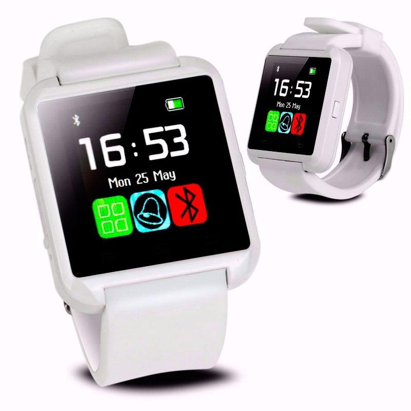250ce227d8d smartwatch u8 reloj inteligente bluetooth tactil blanco. Cargando zoom.