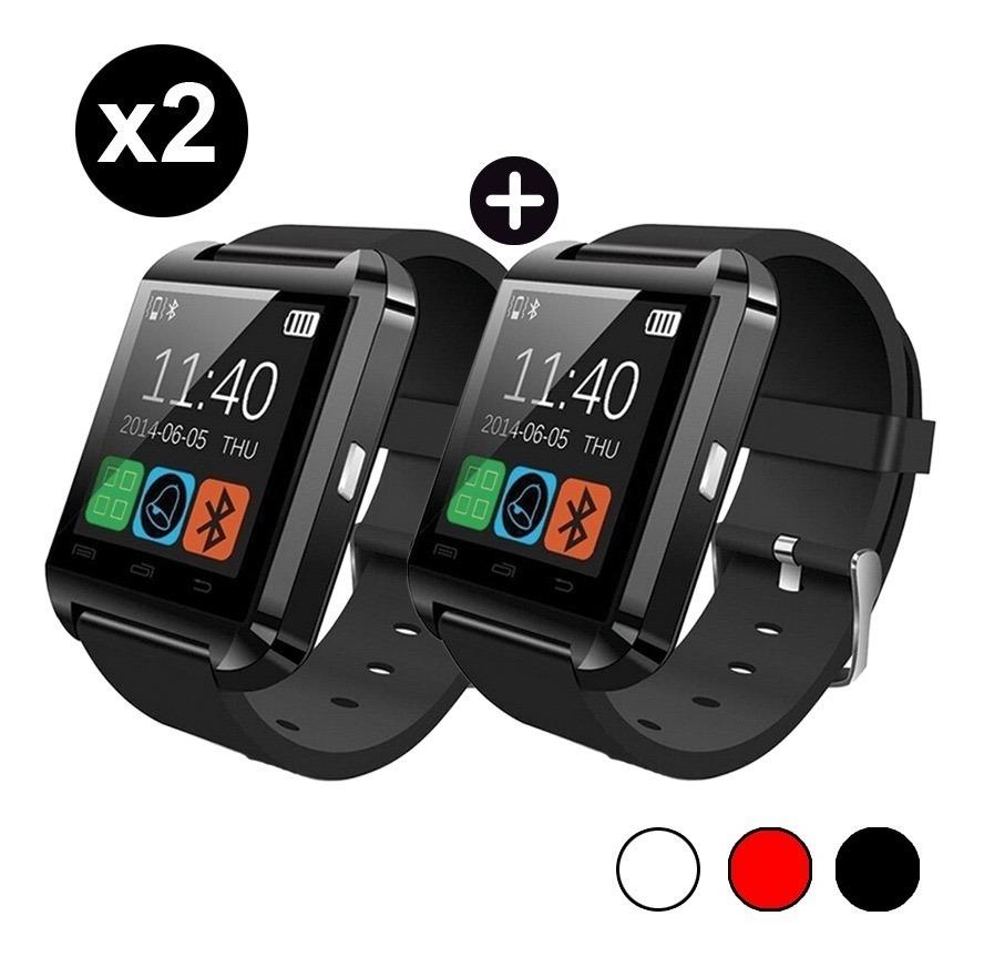4bfc55e37f1 Smartwatch U8 Reloj Inteligente X2 Celular Android Bluetooth ...