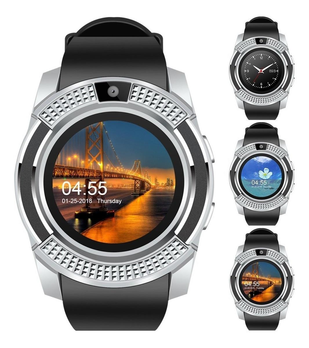Sim Soporta Reloj Inteligente V8 Smartwatch SdBluetooth FKcuJTl13