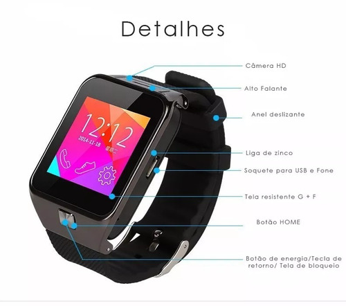 smartwatch watch celular
