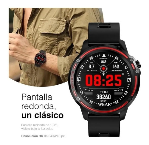 smartwatch x-view zen cronos v12 reloj inteligente colores