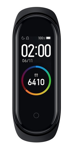 smartwatch xiaomi mi band 4 bluetooth negro 0.95  amoled