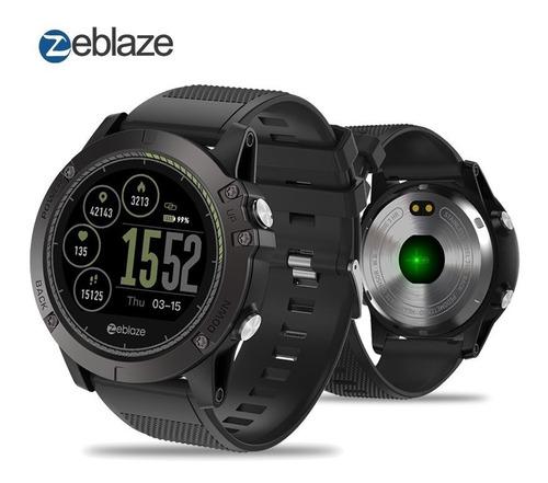 smartwatch zeblaze vibe 3 hr ip67 ritmo cardiaco reloj sport
