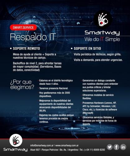smartway soporte it microinformática corporativo