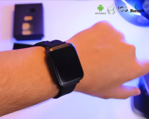 smartwhatch relogio android ios p/ iphone p/samsung bluetoot