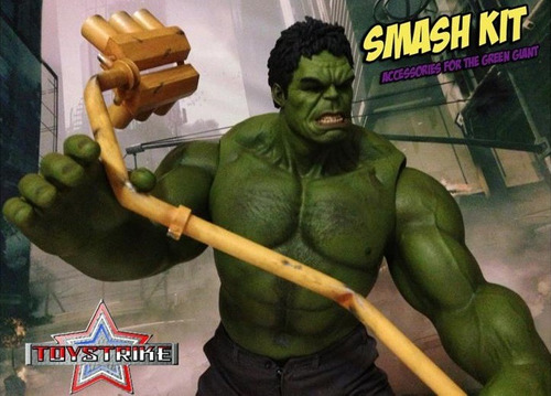 smash kit of the green giant 1/6 toy strike no hot toys