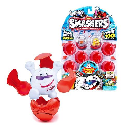 smashers x 8 futbol basquet o rugby muñecos coleccionables