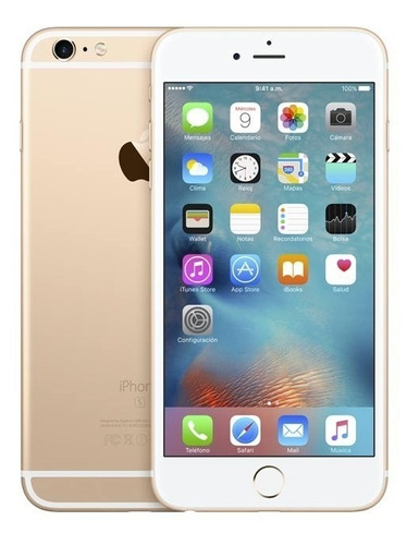 smatphone celular iphon 6 dorado refurbished 16gb