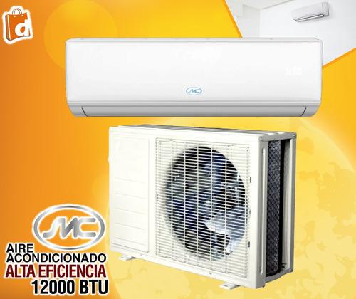 smc aire acondicionado 12000 btu alta eficiencia inc iva