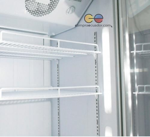 smc enfriador vitrina vertical 416 lt. 15 pies no frost