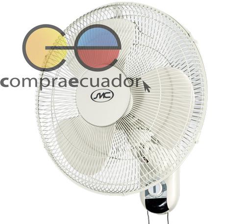 smc ventilador de pared 40 cm 16¨ 3 velocidades giratorio