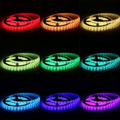 smd5050 300leds flexible color cambio luz strip equipo