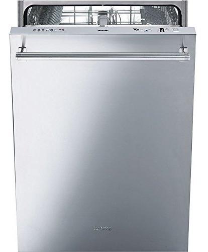 smeg lavavajillas completamente integrado de 24 '' con
