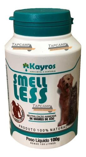 smell less 100g neutralizador de odores cão gato canil areia
