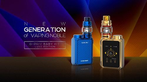 smok g priv luxe edition baby vapeador cigarrillo eléctrico