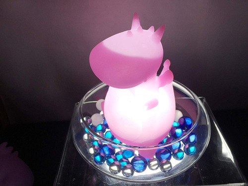 smoko orochi dragon ambient night light (rosa peachy)