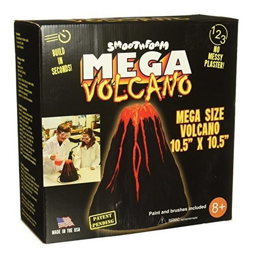 smoothfoam k-103 mega volcano kit-blanco