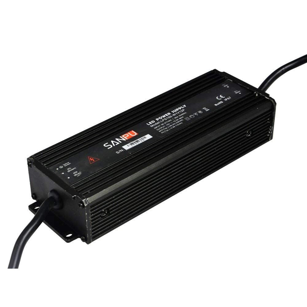 Smps 150w 12vdc Waterproof Ip67 Switch Mode Power Supply 12a Cargando Zoom