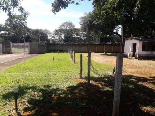 smpw quadra 01, lote de 2500m² em condomínio de alto padrão, último fração a venda. - villa117272