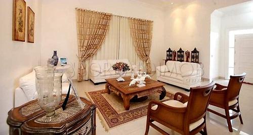 smpw, quadra 26, casa  1150m² com 05 suítes, lazer completo, permuta. - villa115702