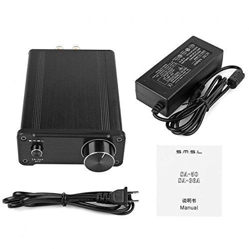 smsl sa-36a pro 20wpc tpa3118d2 amplificador digital amp 12v