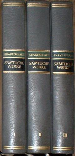 sämtliche werke i-ii-iii - shakespeare