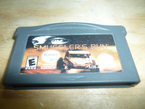 smugglers run gba game boy advanced