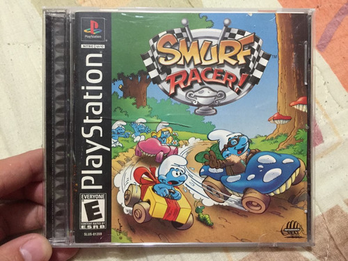 smurf racer.  original ps1