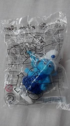 smurfs, colecionáveis mcdonalds bravo lacrado /cris-chic