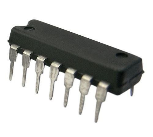 sn74175n cmos integrated circuit dip-16 sn74175